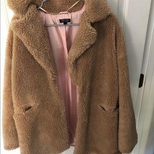 Top shop teddy coat
